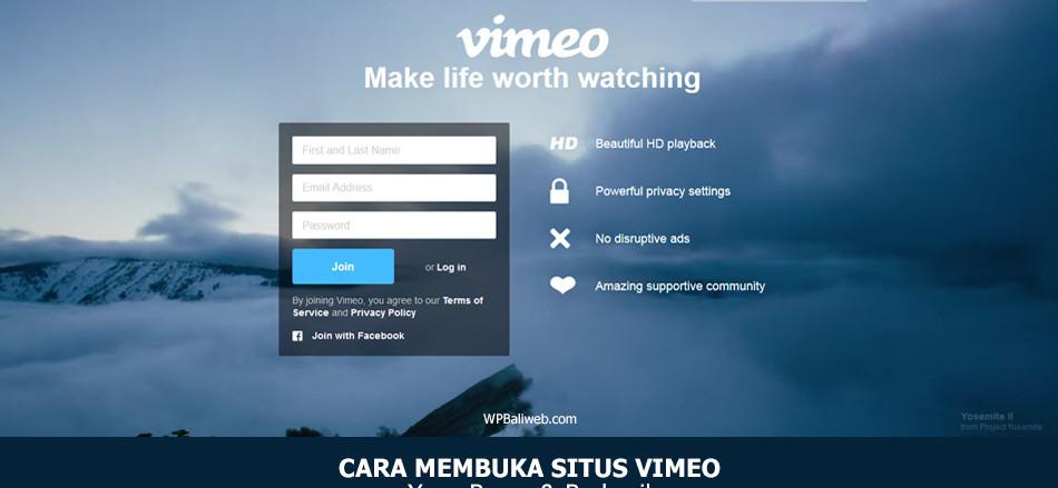 Cara Membuka Situs Vimeo Yang Benar Dan Berhasil