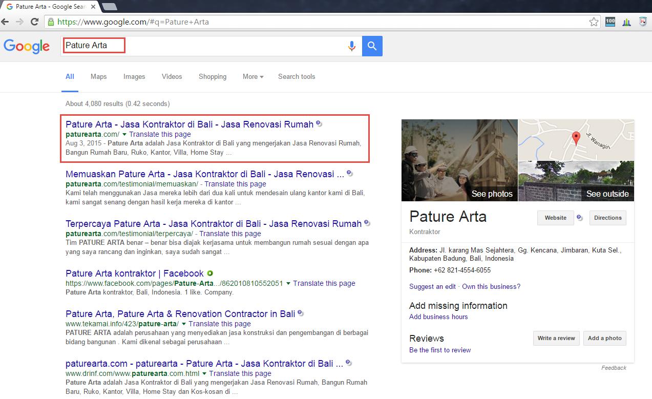 Keyword dengan hasil pencarian Pature Arta