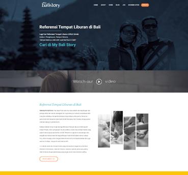 My Bali Story Klien WPBaliweb Jasa Pembuatan Website Murah