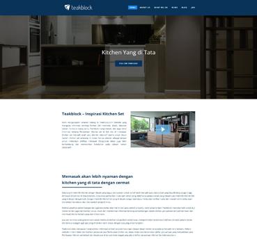 Teakblock Klien WPBaliweb Jasa Pembuatan Website Murah
